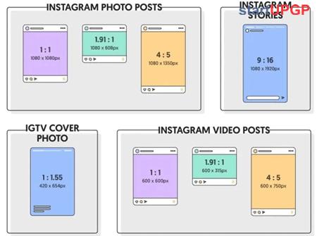 Ukuran Gambar Posting Foto Instagram
